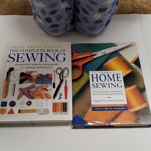 """Hardcover """"How-to-sew"""" Books"""